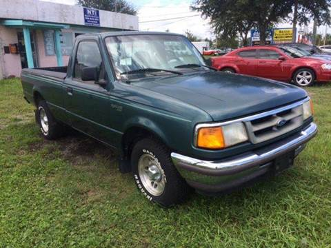 1997 Ford Ranger for sale at NETWORK TRANSPORTATION INC in Jacksonville FL