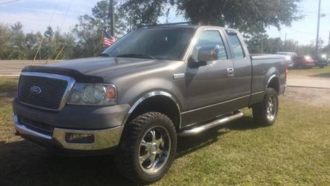 2005 Ford F-150 for sale at NETWORK TRANSPORTATION INC in Jacksonville FL