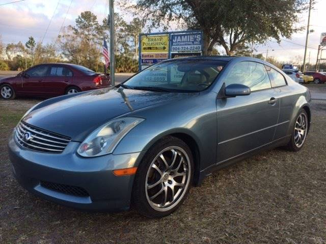 2005 Infiniti G35 for sale at NETWORK TRANSPORTATION INC in Jacksonville FL