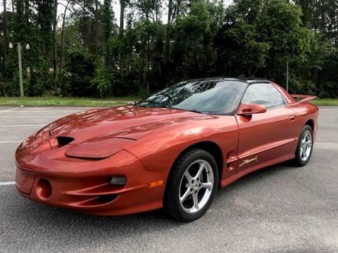 2001 Pontiac Firebird for sale at NETWORK TRANSPORTATION INC in Jacksonville FL
