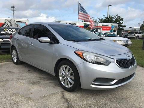 2014 Kia Forte for sale at NETWORK TRANSPORTATION INC in Jacksonville FL