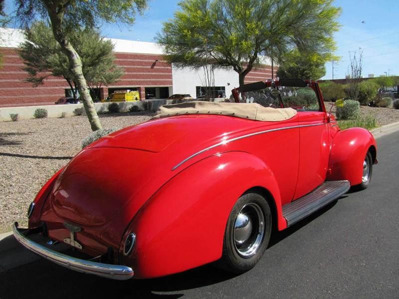 1939 Ford Deluxe Roadster - Chandler AZ