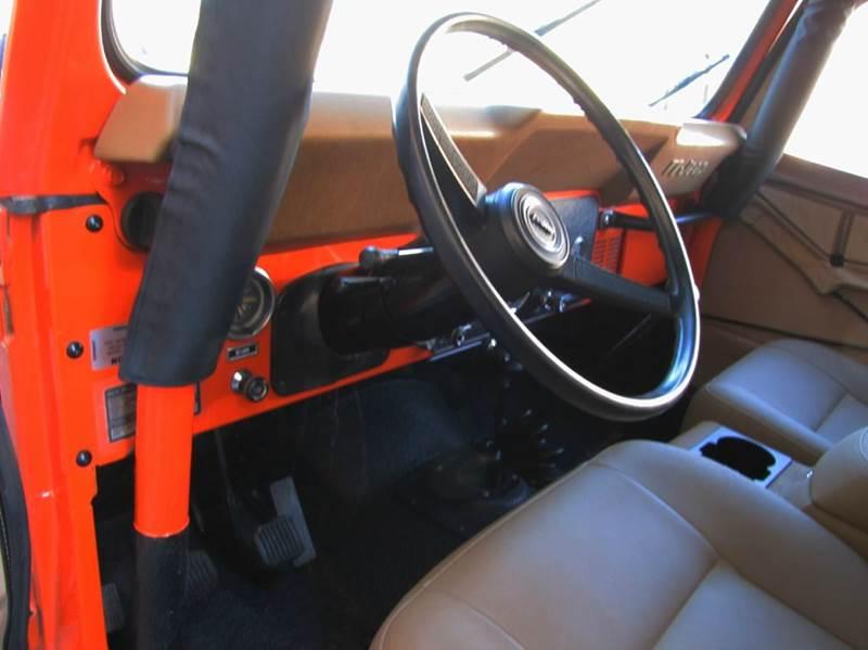 1978 Jeep CJ-7 Levi Edition - Chandler AZ
