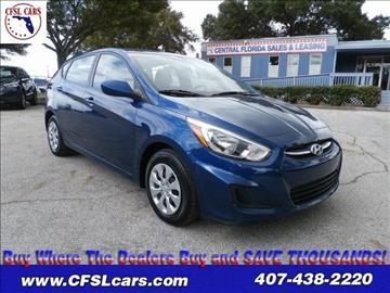 2015 Hyundai Accent for sale in Orlando, FL