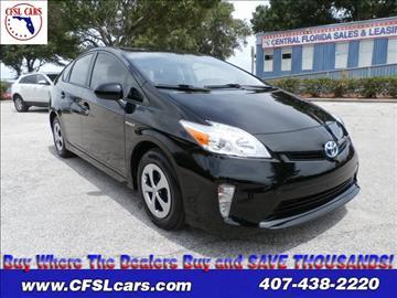 2012 Toyota Prius for sale in Orlando, FL