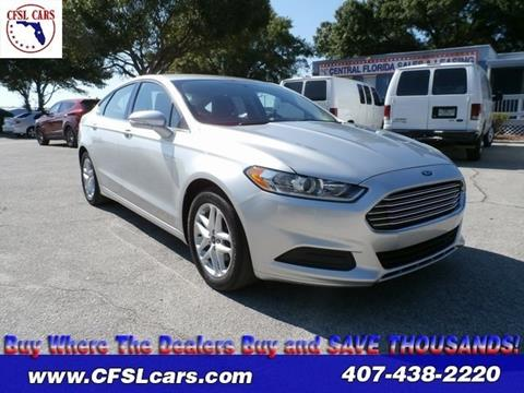 2014 Ford Fusion for sale in Orlando, FL