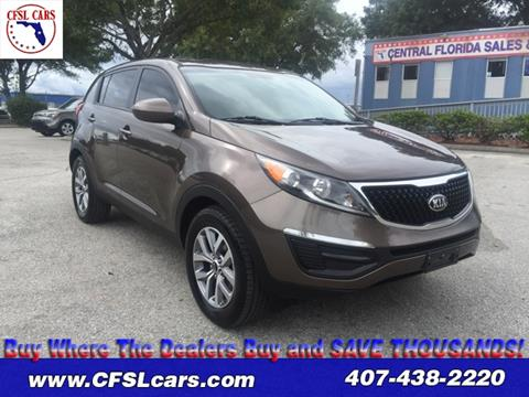 2015 Kia Sportage for sale in Orlando, FL