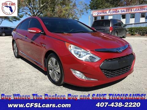 2013 Hyundai Sonata Hybrid for sale in Orlando, FL
