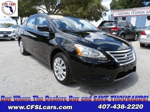 2015 Nissan Sentra for sale in Orlando, FL