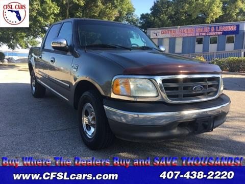 2002 Ford F-150 for sale in Orlando, FL