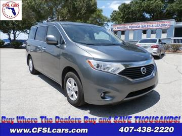 2015 Nissan Quest for sale in Orlando, FL