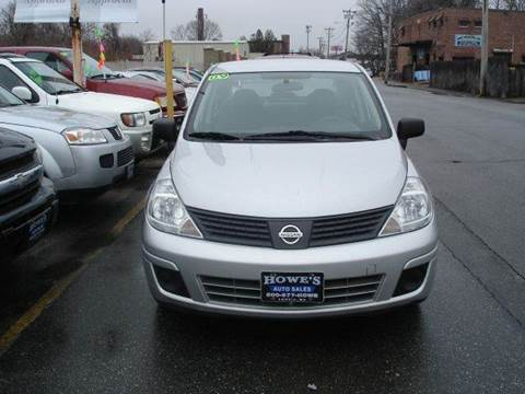 2009 Nissan Versa for sale at Howe's Auto Sales in Lowell MA