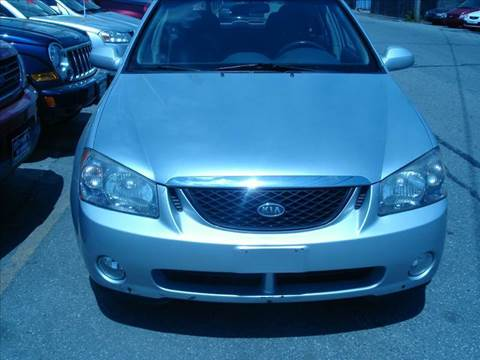 2006 Kia Spectra for sale at Howe's Auto Sales in Lowell MA