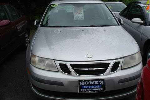 2005 Saab 9-3 for sale at Howe's Auto Sales in Lowell MA