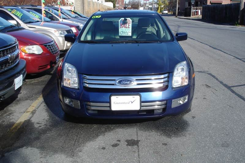 Ford Fusion V SEL In Lowell MA Howes Auto Sales - 2007 fusion