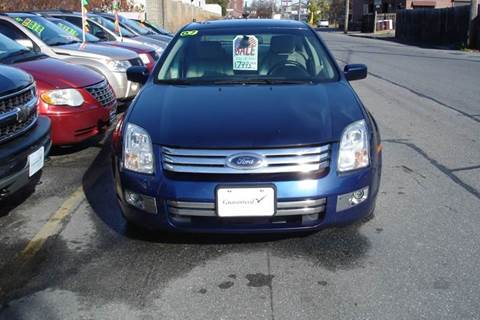 2007 Ford Fusion for sale at Howe's Auto Sales in Lowell MA