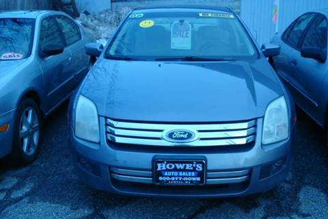 2006 Ford Fusion for sale at Howe's Auto Sales in Lowell MA