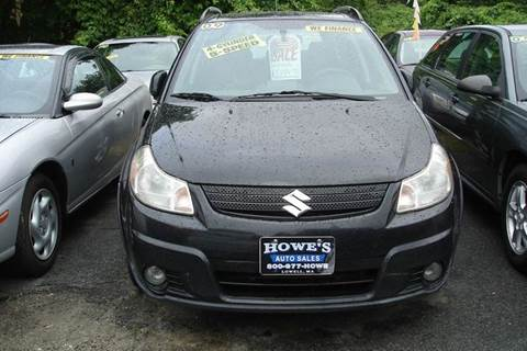 2009 Suzuki SX4 Crossover for sale at Howe's Auto Sales in Lowell MA