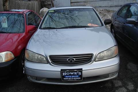 2002 Infiniti I35 for sale at Howe's Auto Sales in Lowell MA