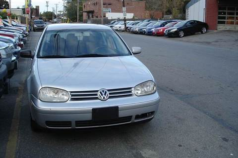 2001 Volkswagen Golf for sale at Howe's Auto Sales in Lowell MA