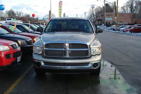 2002 Dodge Ram Pickup 1500 for sale at Howe's Auto Sales in Lowell MA