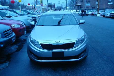 2011 Kia Optima for sale at Howe's Auto Sales in Lowell MA