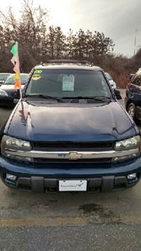2003 Chevrolet TrailBlazer for sale at Howe's Auto Sales in Lowell MA