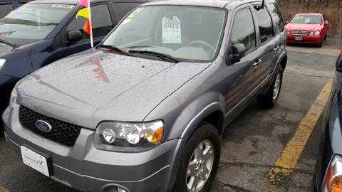Used 2007 ford escape for sale in massachusetts for Motor vehicle lowell ma