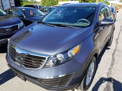 2011 Kia Sportage for sale at Howe's Auto Sales in Lowell MA
