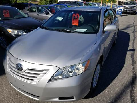 2008 Toyota Camry for sale at Howe's Auto Sales in Lowell MA