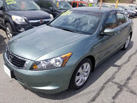 2008 Honda Accord for sale at Howe's Auto Sales in Lowell MA
