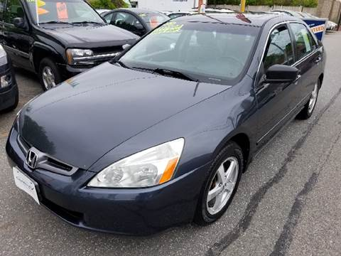 2005 Honda Accord for sale at Howe's Auto Sales in Lowell MA