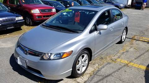 2007 Honda Civic for sale at Howe's Auto Sales in Lowell MA