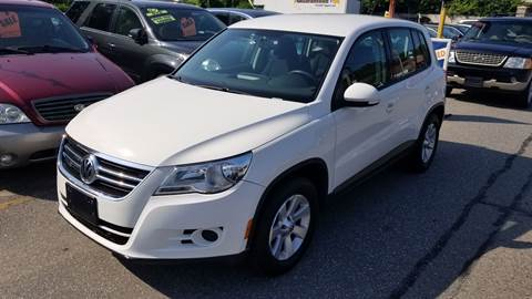 2010 Volkswagen Tiguan for sale at Howe's Auto Sales in Lowell MA