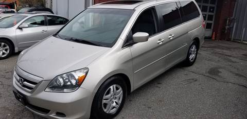2006 Honda Odyssey for sale in Lowell, MA