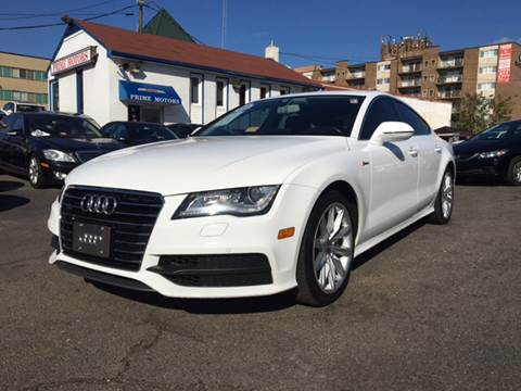 2012 Audi A7 for sale at PRIME MOTORS LLC in Arlington VA