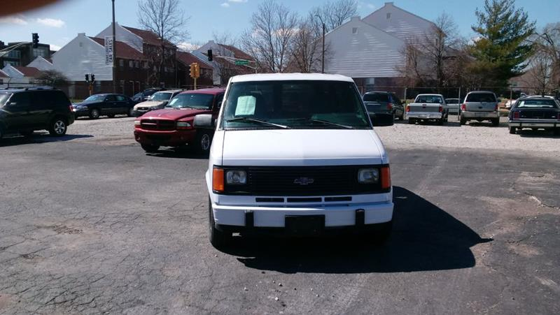1993 Chevrolet Astro In Saint Louis Mo St Louis Auto Car Sales