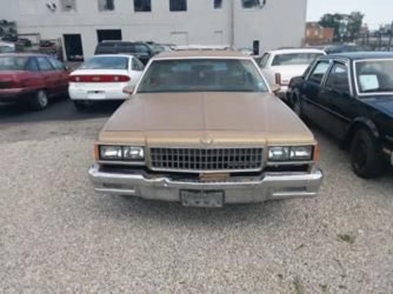 1986 Chevrolet Caprice Classic 4dr Wagon In Saint Louis Mo
