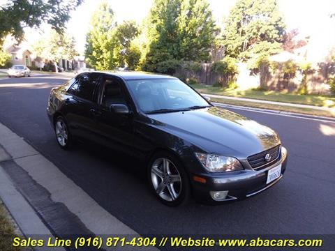 2003 Lexus IS 300 for sale in Lincon, CA