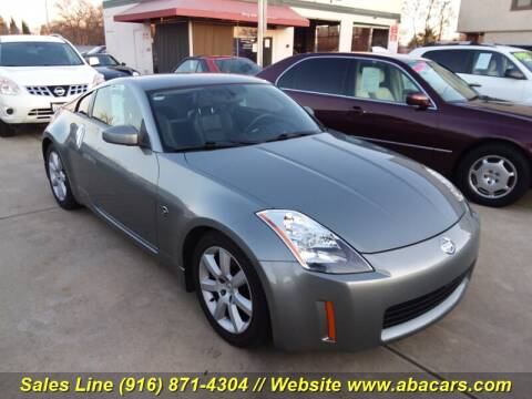 2004 Nissan 350Z Touring for sale at About New Auto Sales in Lincoln CA