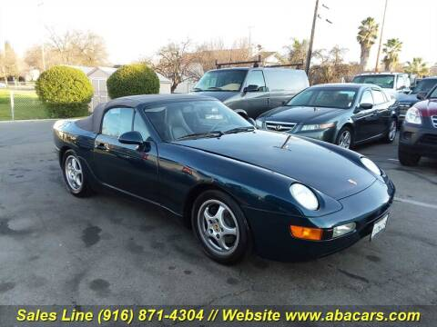 1992 Porsche 968 for sale at About New Auto Sales in Lincoln CA