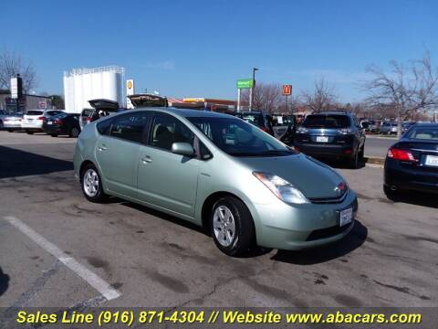 2009 Toyota Prius for sale at About New Auto Sales in Lincoln CA