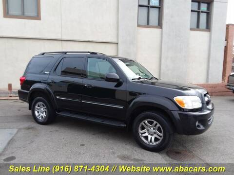 2005 Toyota Sequoia SR5 for sale at About New Auto Sales in Lincoln CA