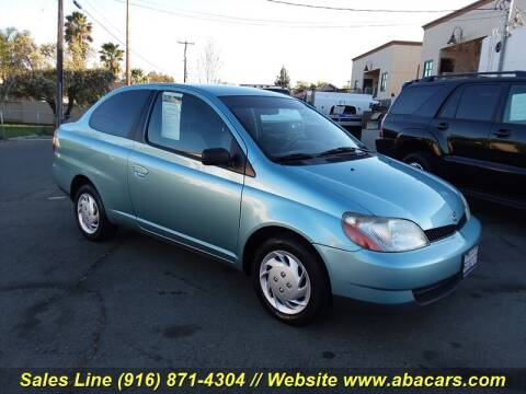 2000 Toyota ECHO for sale at About New Auto Sales in Lincoln CA
