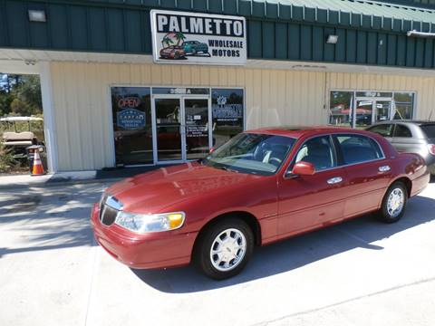 1998 Lincoln Town Car for sale in Hardeeville, SC