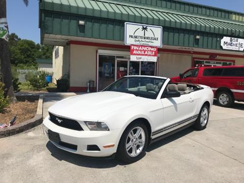 2010 Ford Mustang for sale in Hardeeville, SC