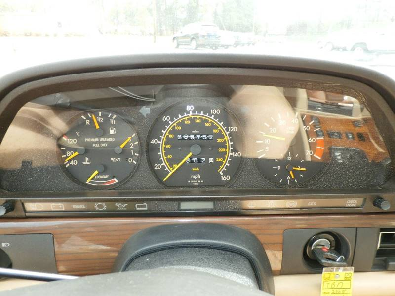 1989 Mercedes-Benz 420-Class 420 SEL 4dr Sedan - Hardeeville SC