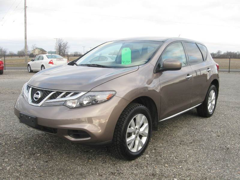 2012 Nissan Murano AWD S 4dr SUV In Huntsville OH - Country Auto