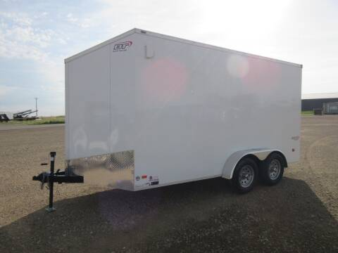 2020 Bravo 7' x 14' for sale at Nore's Auto & Trailer Sales - Enclosed Trailers in Kenmare ND
