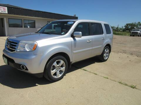 2015 Honda Pilot for sale at Nore's Auto & Trailer Sales - Vehicles in Kenmare ND
